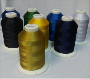 Купить нитки для машинной вышивки 120D\2