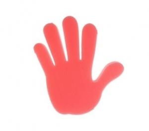 Рука болельщика под заказ (поролоновые руки)