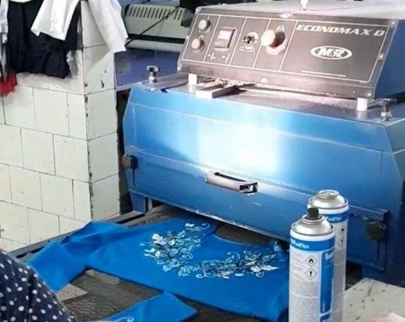 Быстрая сушка изделий при печати